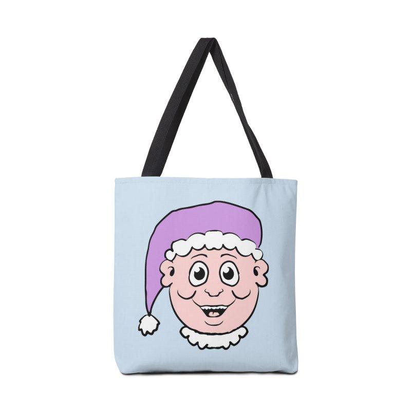 Elf Head Accessories Bag by ericallen's Artist Shop