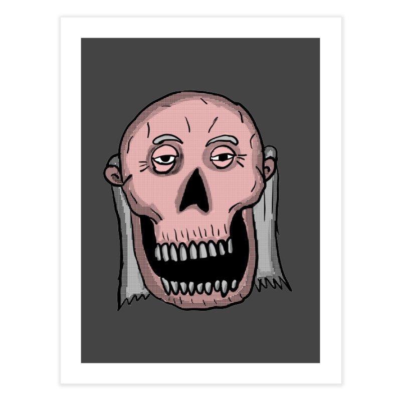 Zombie Head Home Fine Art Print by ericallen's Artist Shop