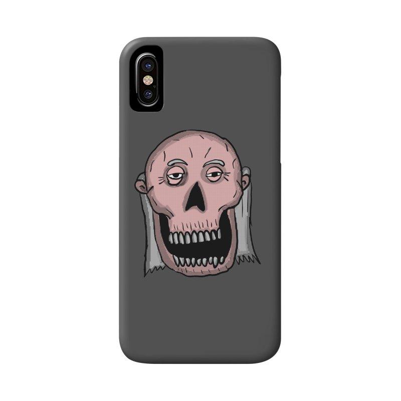 Zombie Head Accessories Phone Case by ericallen's Artist Shop