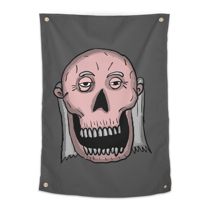 Zombie Head Home Tapestry by ericallen's Artist Shop