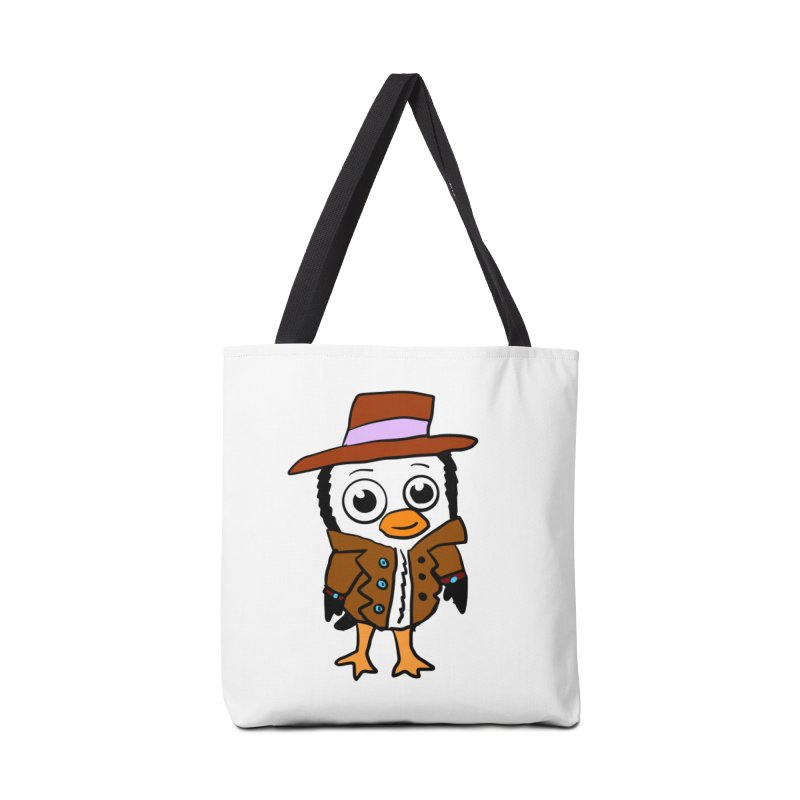 Penguin Mobster Accessories Bag by ericallen's Artist Shop