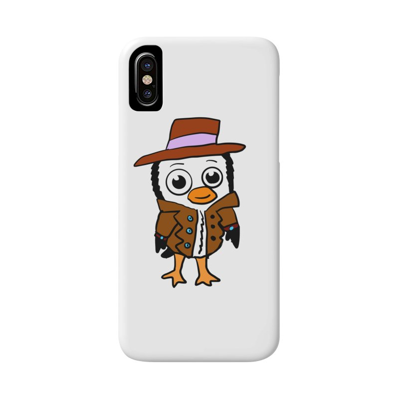 Penguin Mobster Accessories Phone Case by ericallen's Artist Shop