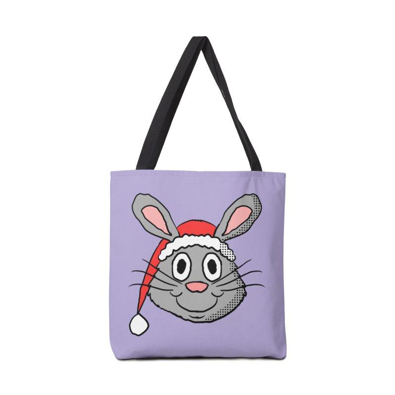Xmas Bunny 1 Accessories Bag by ericallen's Artist Shop