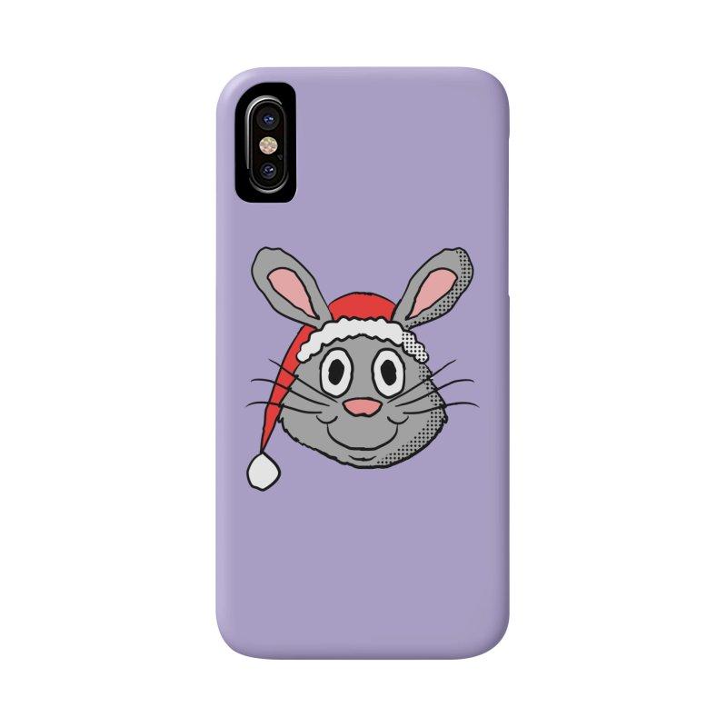Xmas Bunny 1 Accessories Phone Case by ericallen's Artist Shop