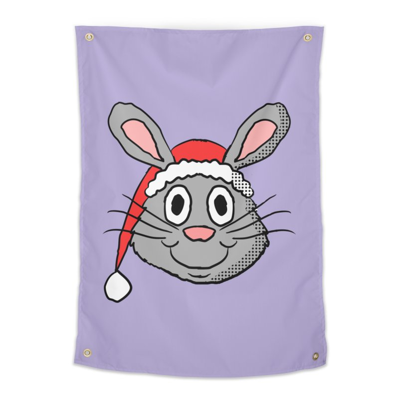 Xmas Bunny 1 Home Tapestry by ericallen's Artist Shop