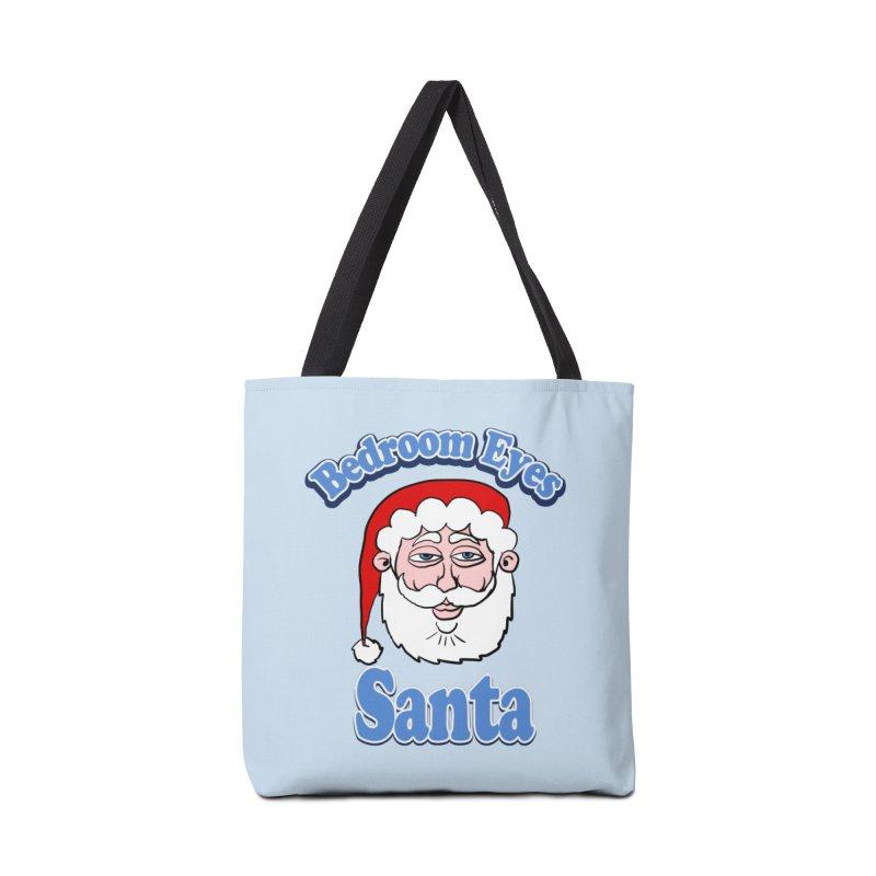 Bedroom Eyes Santa Accessories Bag by ericallen's Artist Shop