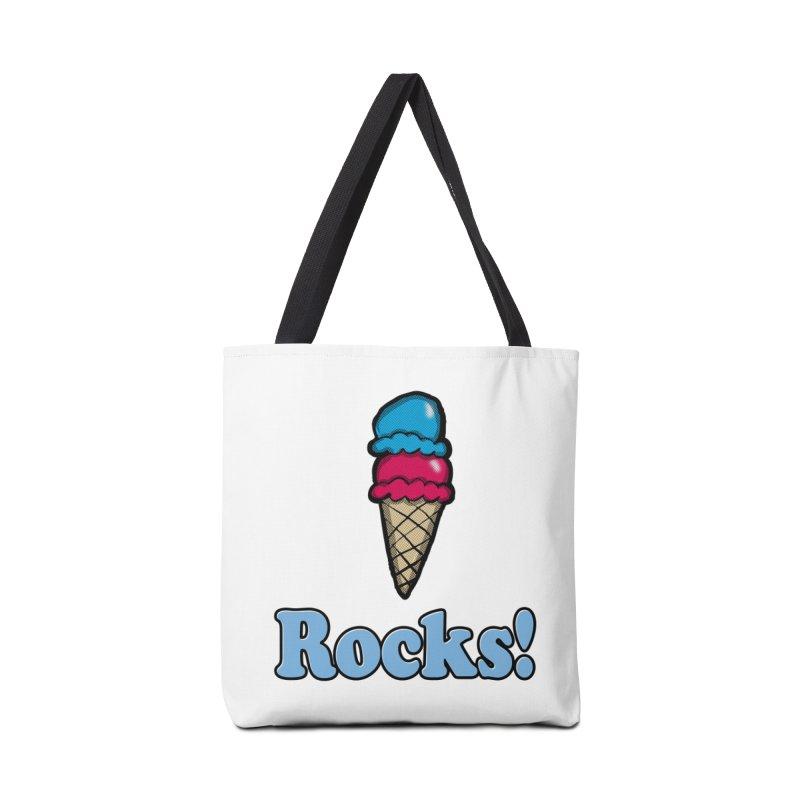 Ice Cream Rocks Accessories Bag by ericallen's Artist Shop