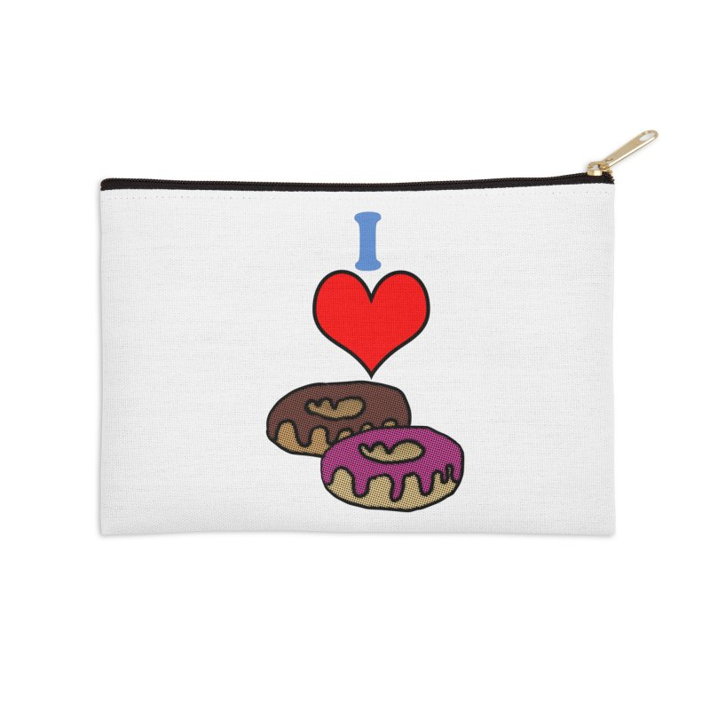 I heart donuts Accessories Zip Pouch by ericallen's Artist Shop