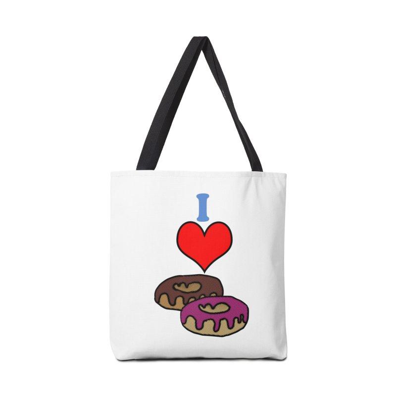 I heart donuts Accessories Bag by ericallen's Artist Shop