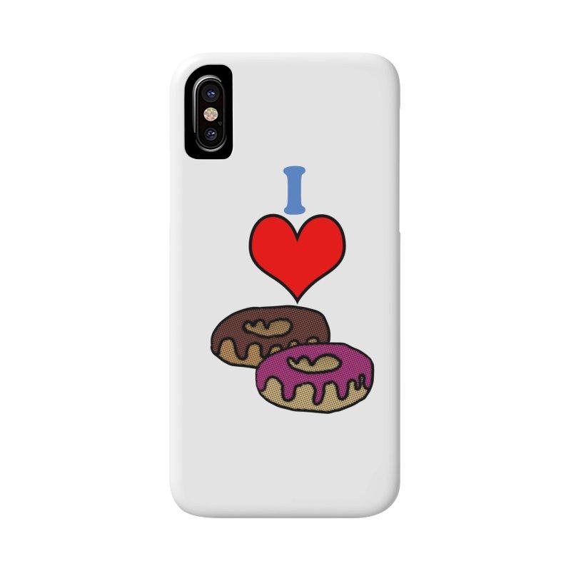 I heart donuts Accessories Phone Case by ericallen's Artist Shop