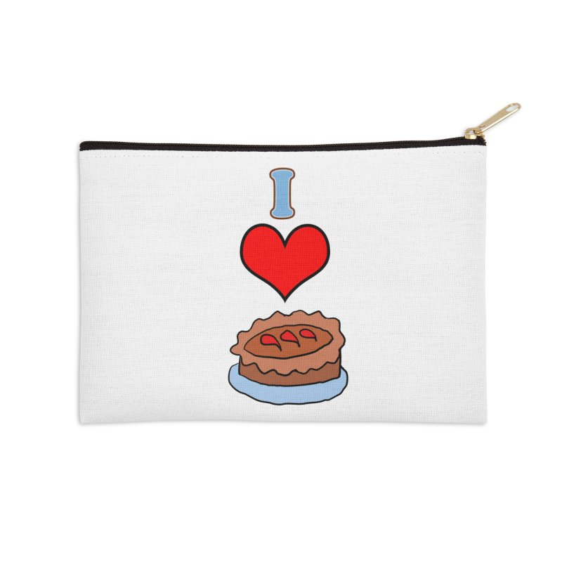 I heart pie Accessories Zip Pouch by ericallen's Artist Shop