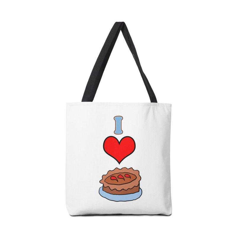 I heart pie Accessories Bag by ericallen's Artist Shop