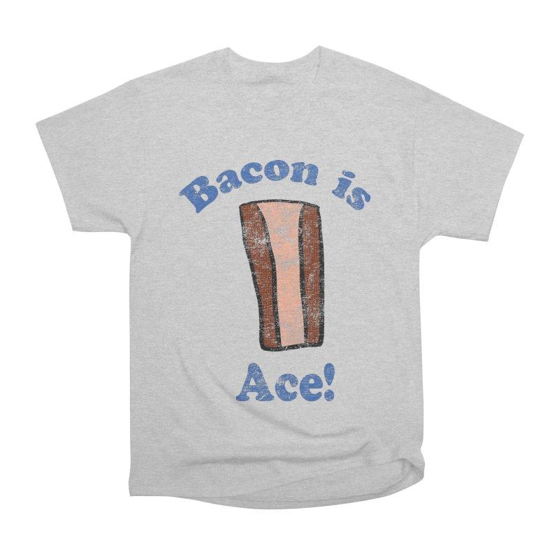 Vintage Bacon is Ace Women's Heavyweight Unisex T-Shirt by ericallen's Artist Shop