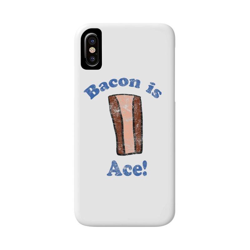 Vintage Bacon is Ace Accessories Phone Case by ericallen's Artist Shop