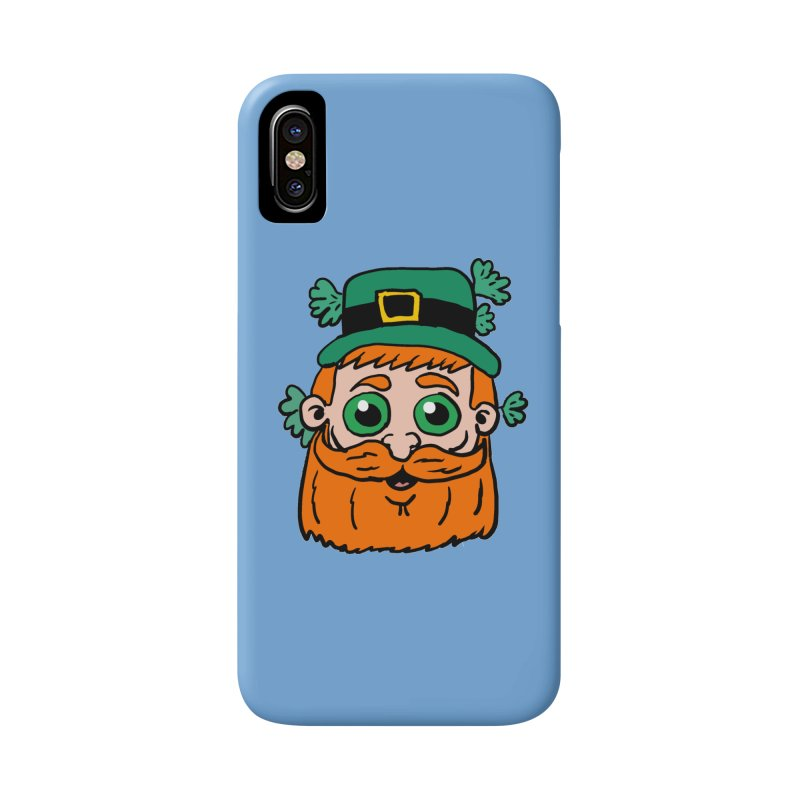 Leprechaun head Accessories Phone Case by ericallen's Artist Shop
