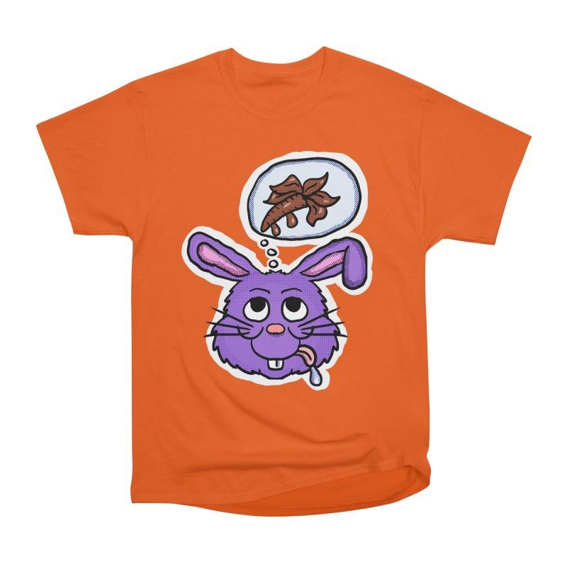 Sweet Tooth Bunny Women's Heavyweight Unisex T-Shirt by ericallen's Artist Shop