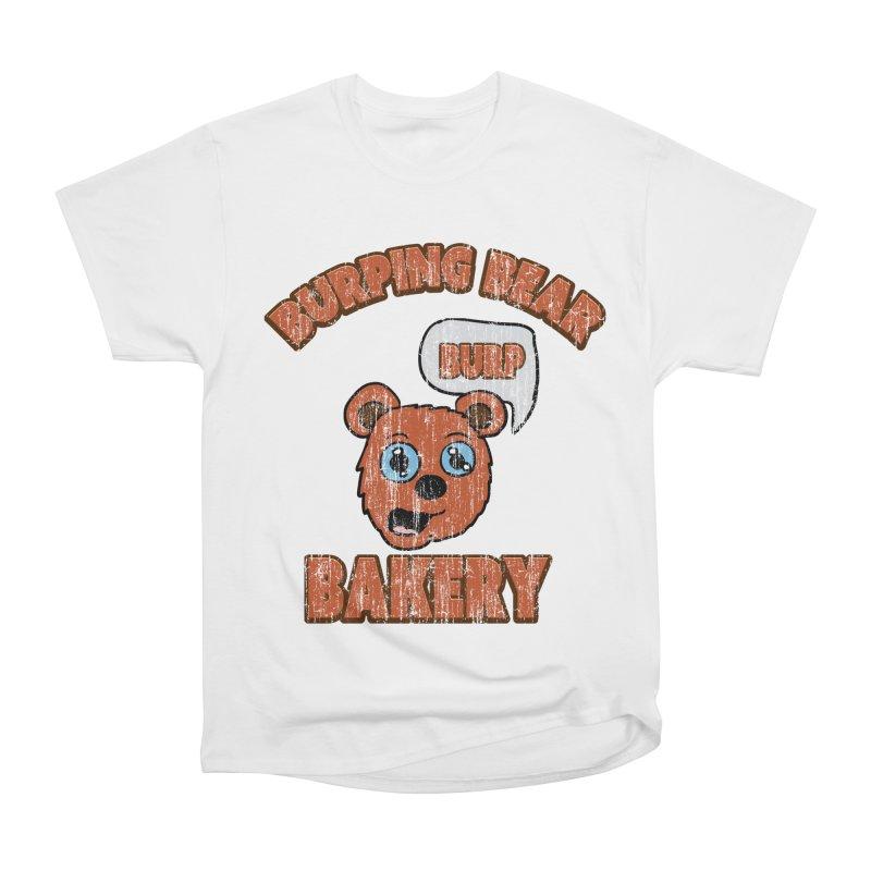 Vintage Burping Bear Bakery Women's Heavyweight Unisex T-Shirt by ericallen's Artist Shop