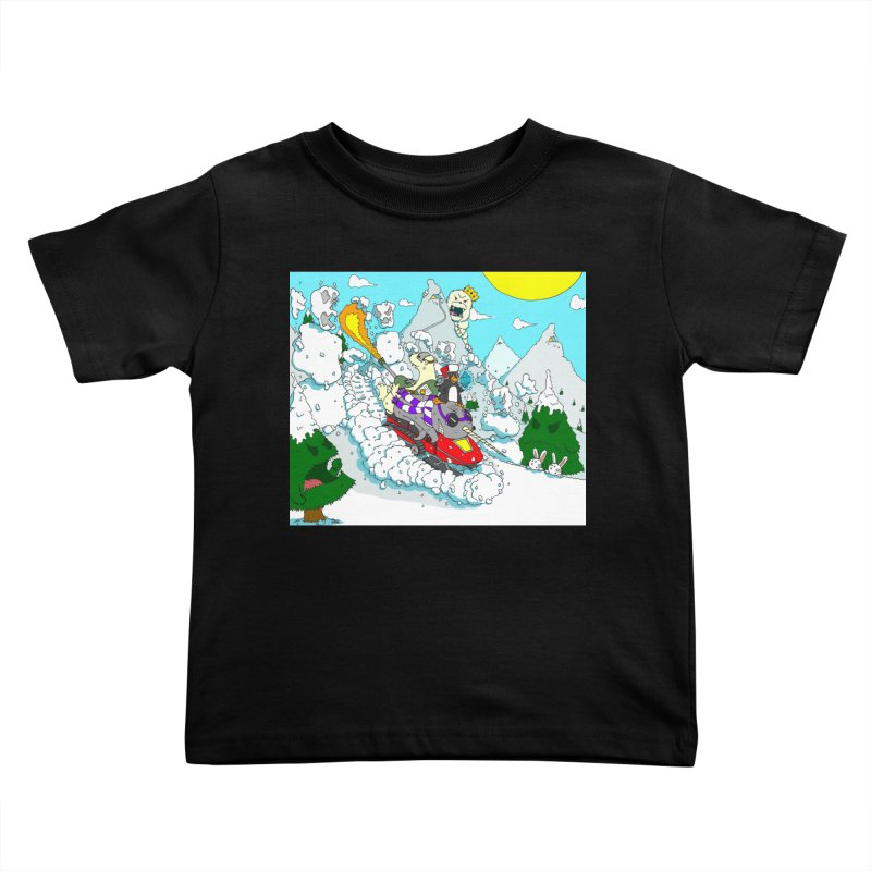 Go, Team Avalanche! Go! Kids Toddler T-Shirt by ericboekercomics's Artist Shop