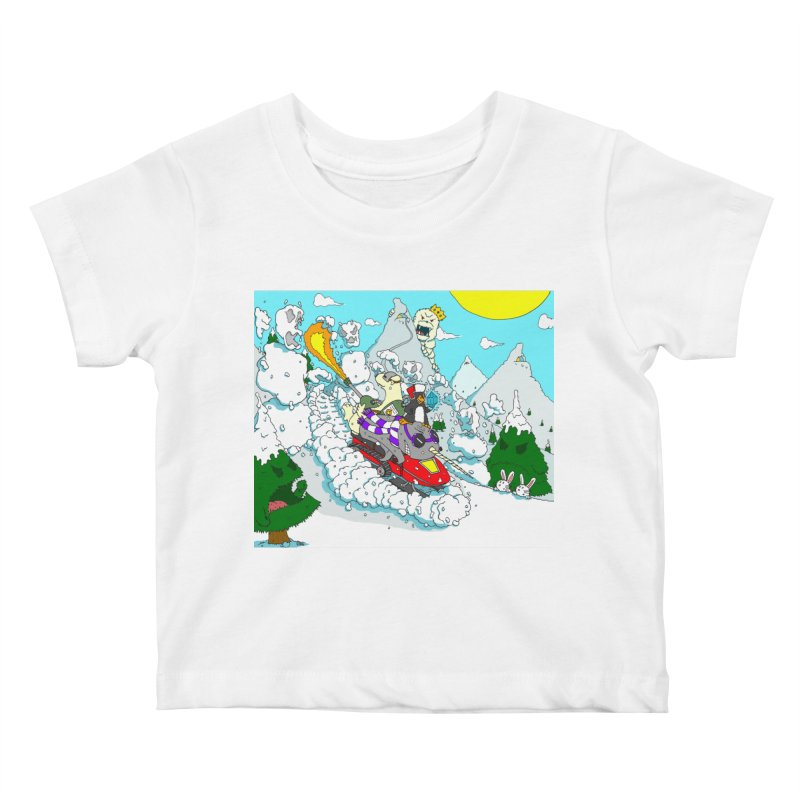 Go, Team Avalanche! Go! Kids Baby T-Shirt by ericboekercomics's Artist Shop