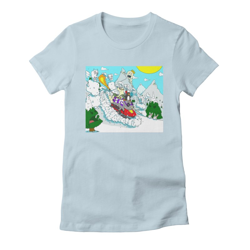 Go, Team Avalanche! Go! Women's Fitted T-Shirt by ericboekercomics's Artist Shop