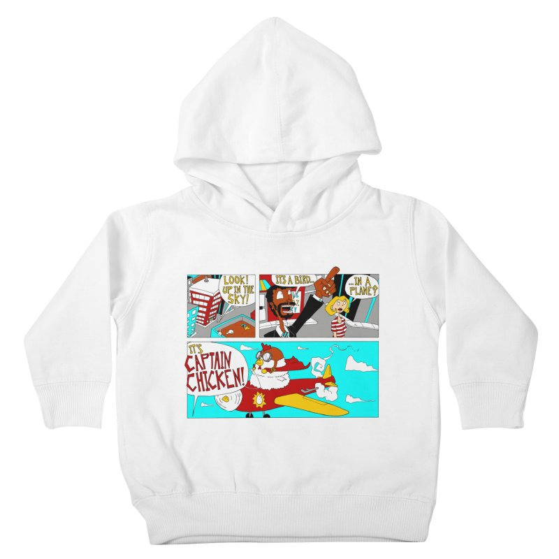 It's a bird...in a plane? Kids Toddler Pullover Hoody by ericboekercomics's Artist Shop