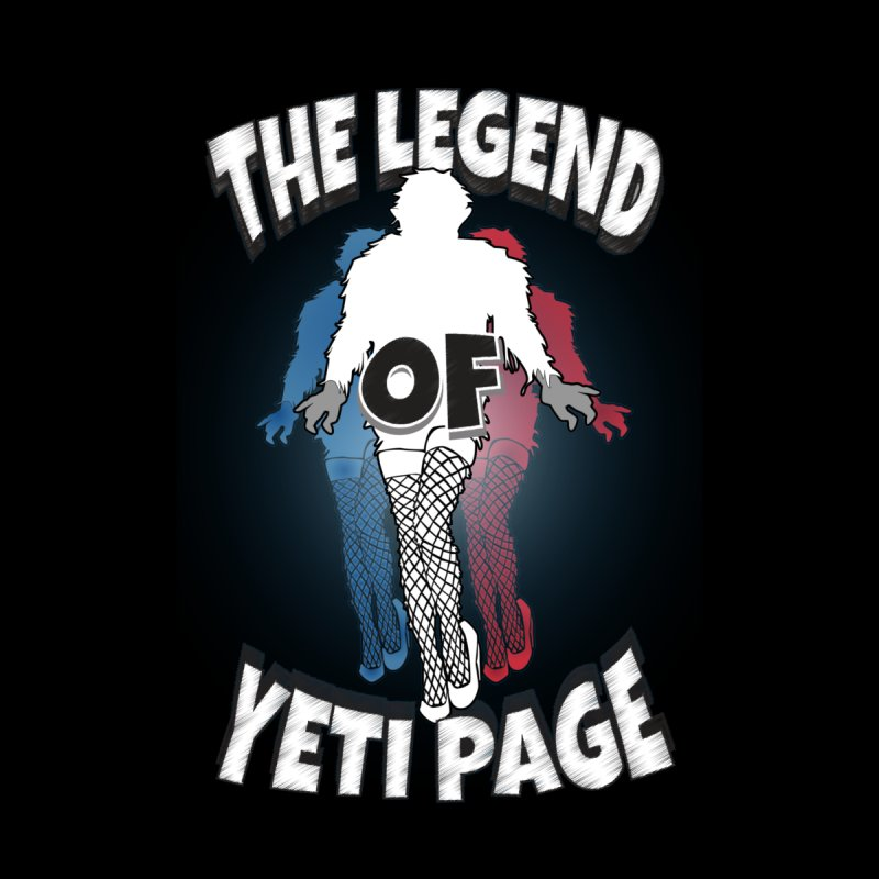 The Legend Of Yeti Page Women's Zip-Up Hoody by eric cash