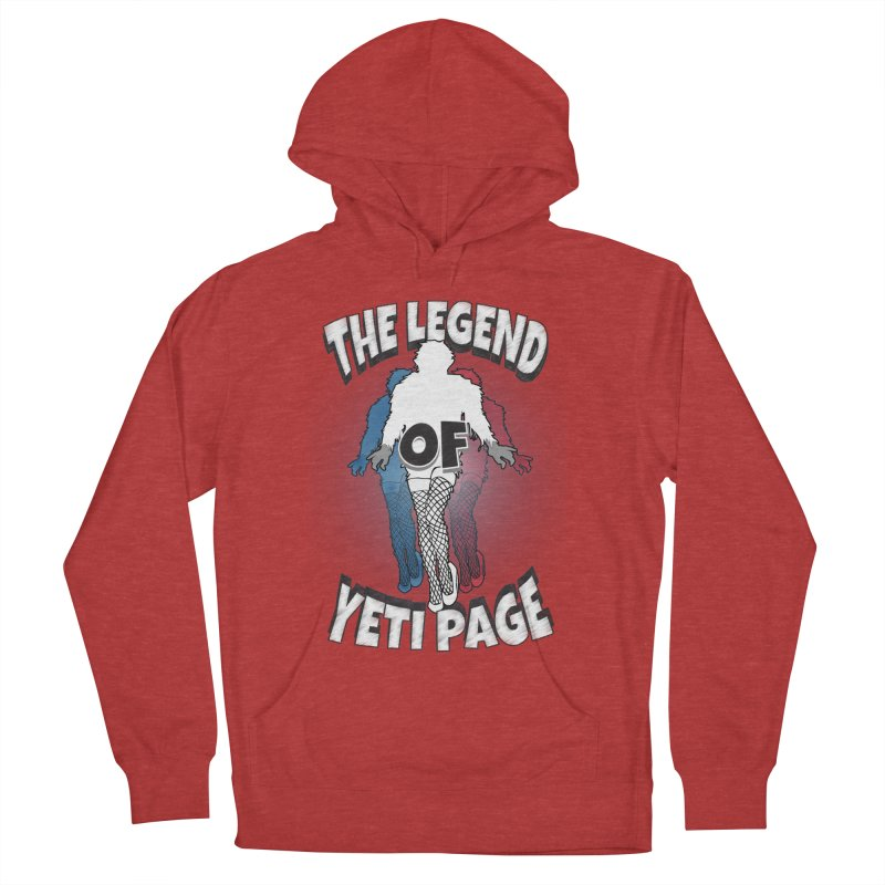 The Legend Of Yeti Page Women's French Terry Pullover Hoody by eric cash