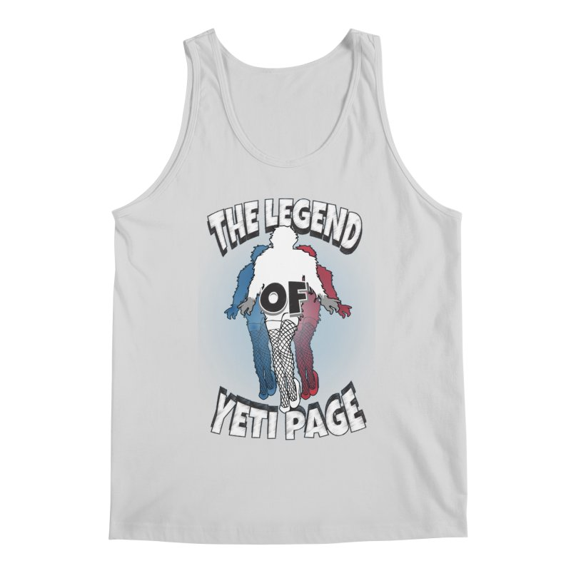 The Legend Of Yeti Page Men's Tank by eric cash