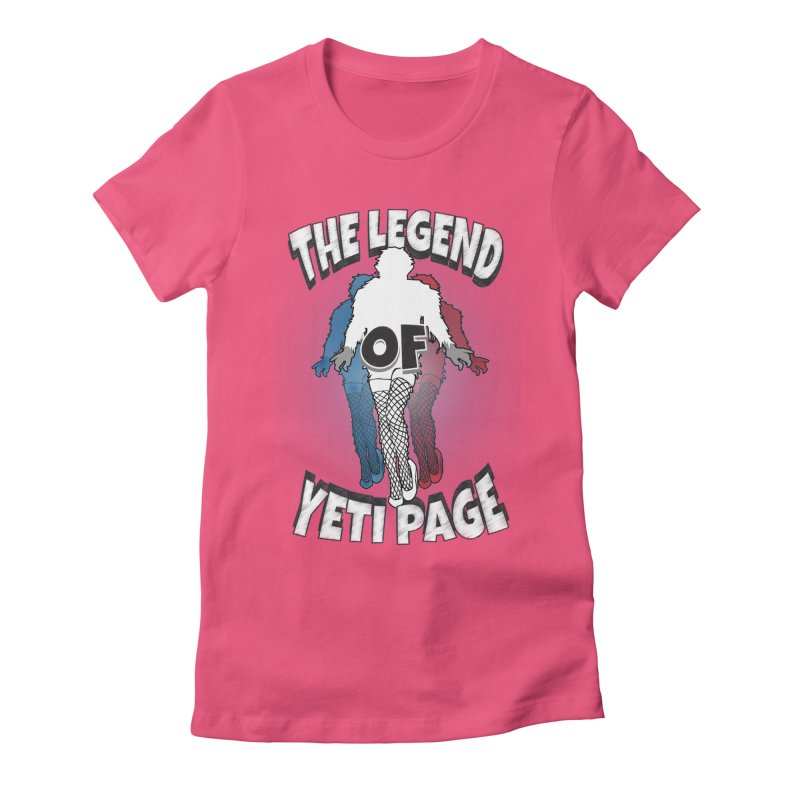 The Legend Of Yeti Page Women's T-Shirt by eric cash