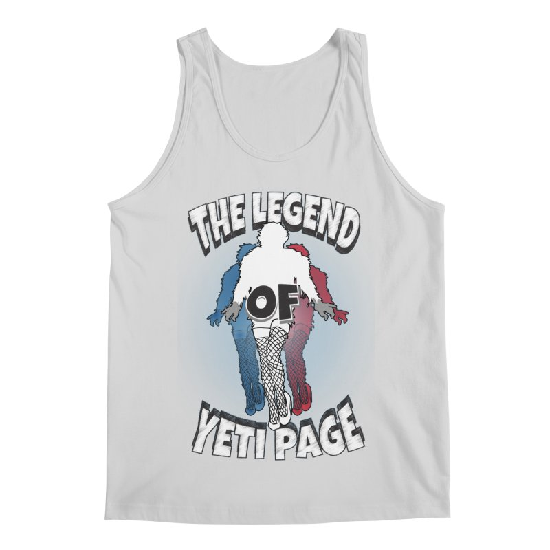 The Legend Of Yeti Page Men's Regular Tank by eric cash