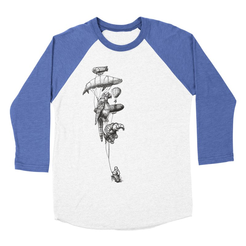 Balloon Menagerie Women's Baseball Triblend T-Shirt by ericfan's Artist Shop