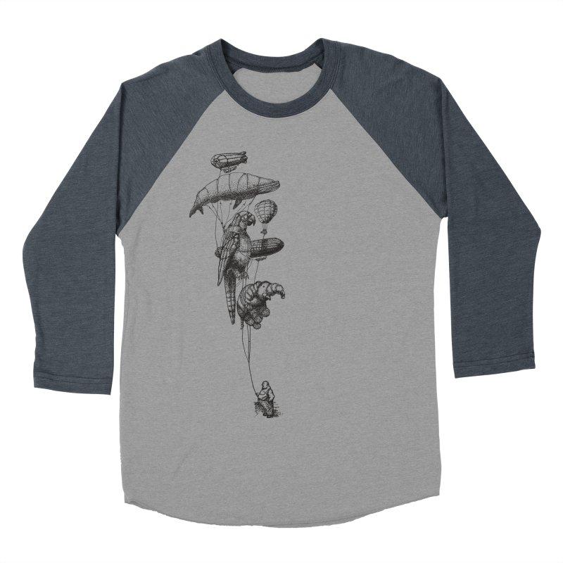 The Balloon Menagerie Men's Baseball Triblend T-Shirt by ericfan's Artist Shop