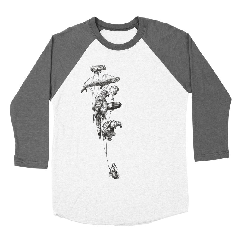 The Balloon Menagerie Men's Baseball Triblend T-Shirt by ericfan's Artist Shop