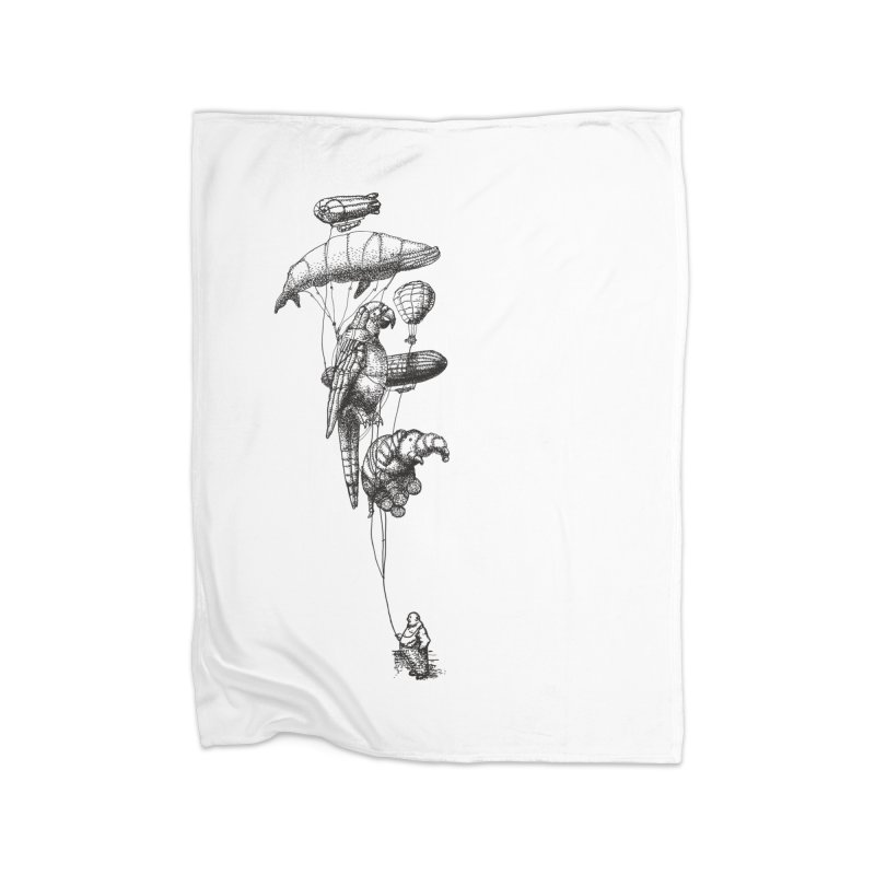 The Balloon Menagerie Home Blanket by ericfan's Artist Shop