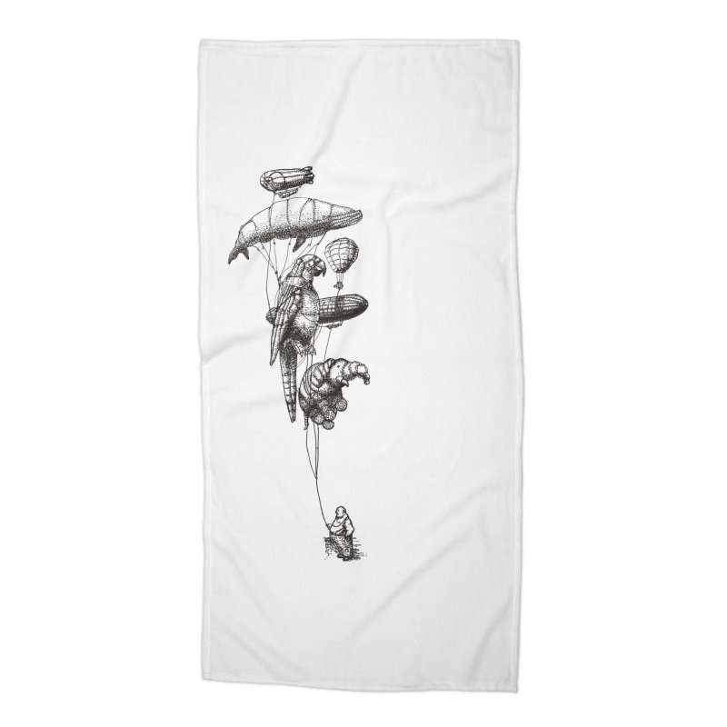 The Balloon Menagerie Accessories Beach Towel by ericfan's Artist Shop