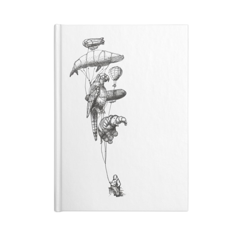 The Balloon Menagerie Accessories Notebook by ericfan's Artist Shop