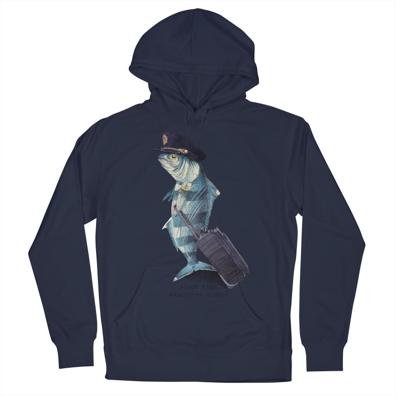 Pilot Fish Women's Pullover Hoody by ericfan's Artist Shop