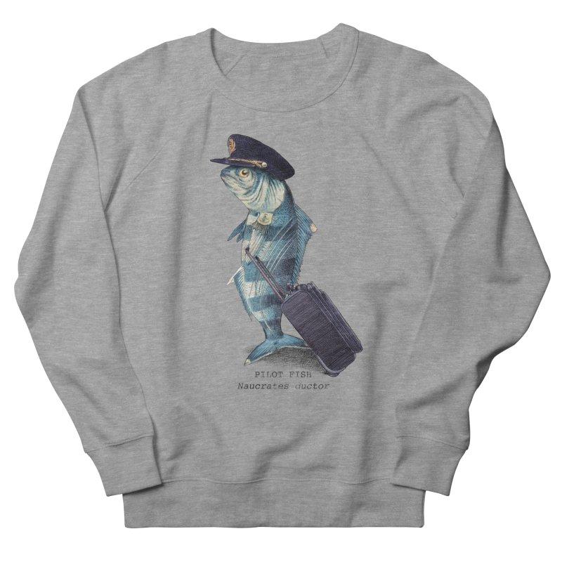 Pilot Fish Men's French Terry Sweatshirt by ericfan's Artist Shop