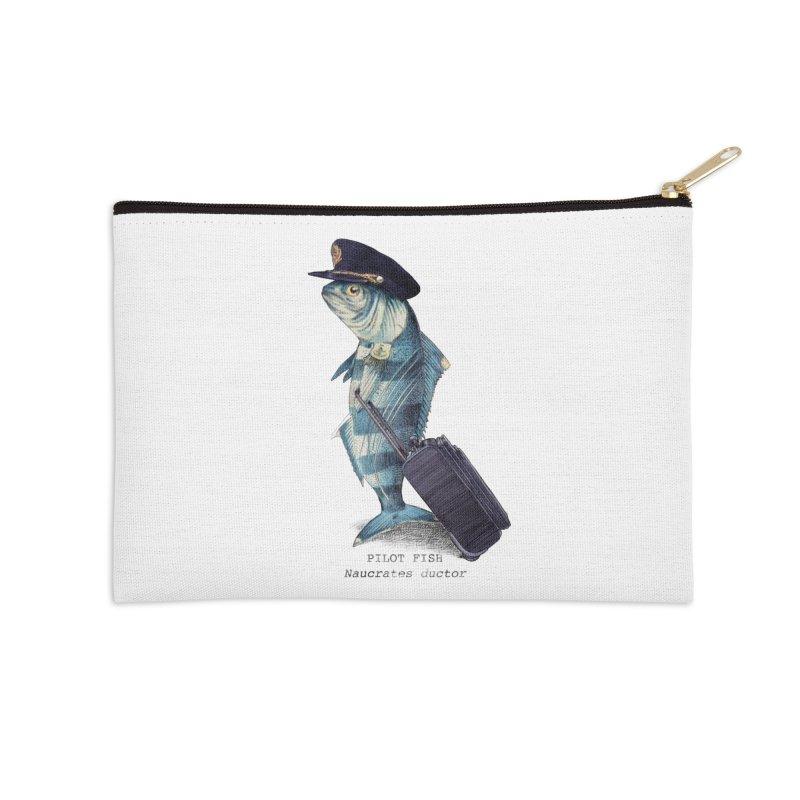 Pilot Fish Accessories Zip Pouch by ericfan's Artist Shop
