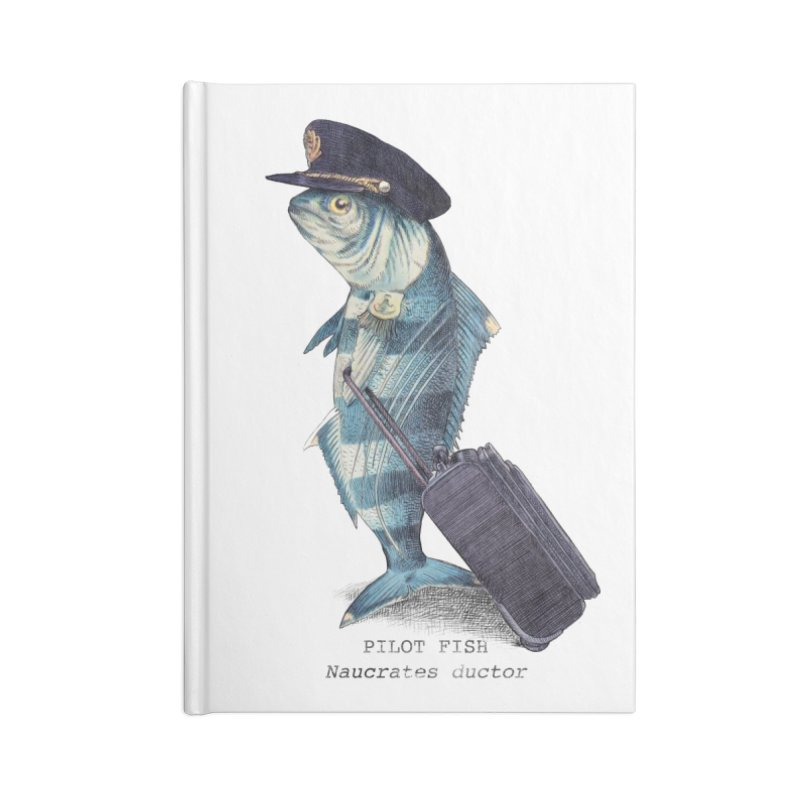 Pilot Fish Accessories Notebook by ericfan's Artist Shop