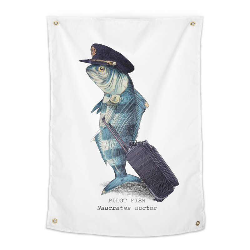 Pilot Fish Home Tapestry by ericfan's Artist Shop