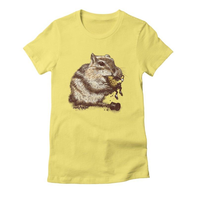 An Occupational Hazard  Women's Fitted T-Shirt by ericfan's Artist Shop