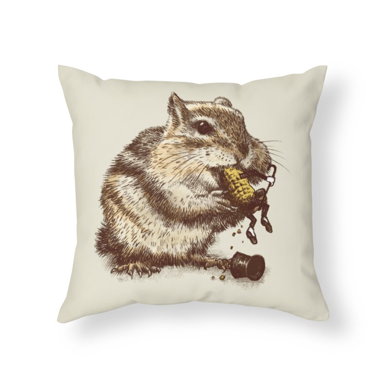 An Occupational Hazard  Home Throw Pillow by ericfan's Artist Shop