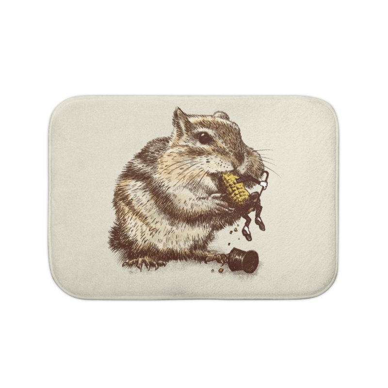 An Occupational Hazard  Home Bath Mat by ericfan's Artist Shop