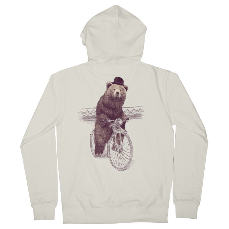 Barnabus the Bear Men's Zip-Up Hoody by ericfan's Artist Shop