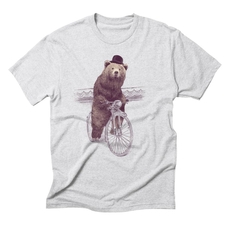 Barnabus the Bear Men's Triblend T-shirt by ericfan's Artist Shop