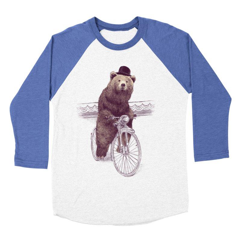 Barnabus the Bear Women's Baseball Triblend T-Shirt by ericfan's Artist Shop