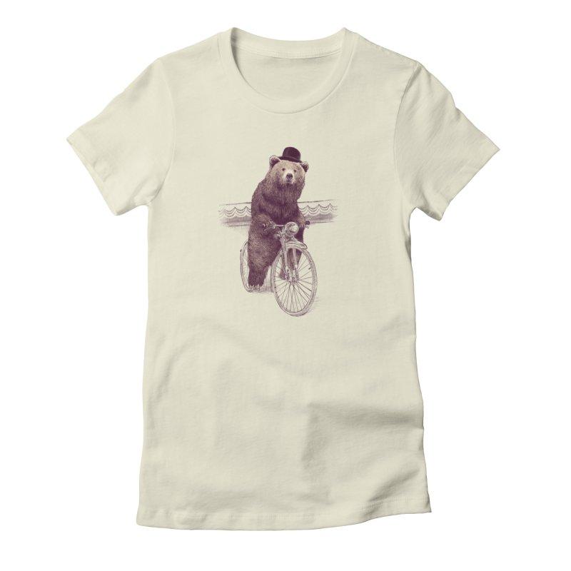 Barnabus the Bear Women's T-Shirt by ericfan's Artist Shop