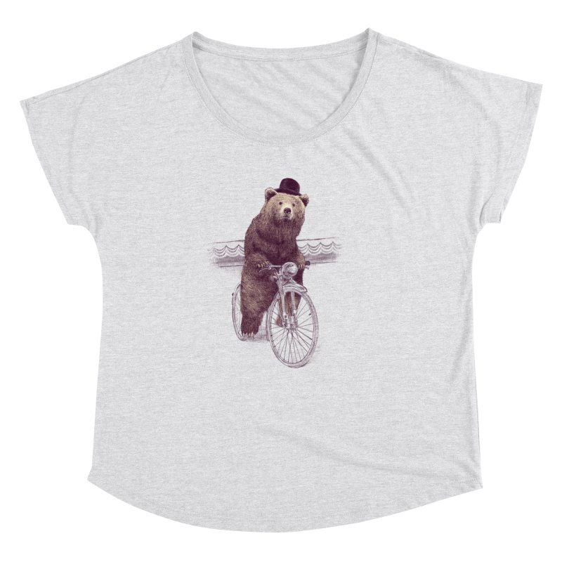 Barnabus the Bear Women's Dolman by ericfan's Artist Shop