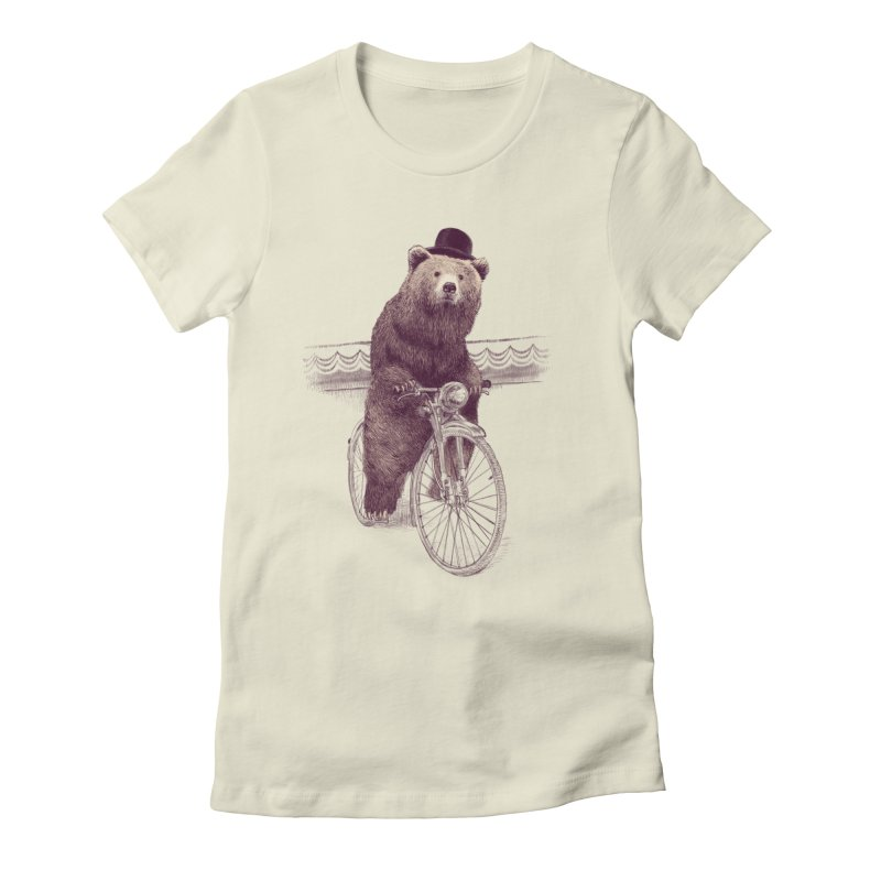 Barnabus the Bear Women's Fitted T-Shirt by ericfan's Artist Shop